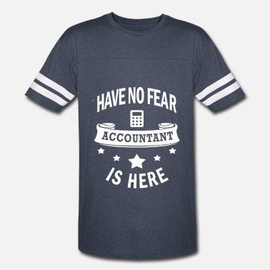 Labor-day-tank-tops Accountant Gift-Have No Fear-Cool Birthday Present - Vintage Sport T-Shirt