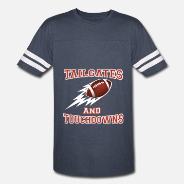 Football Tailgate Tailgates and Touchdowns Thanksgiving Football - Vintage Sport T-Shirt