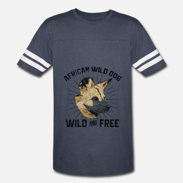 Wild Dog Dogs Grudge - African Wild Dog - Vintage Sport T-Shirt