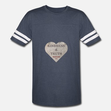 Bible Truth Kindness and Truth - Vintage Sport T-Shirt