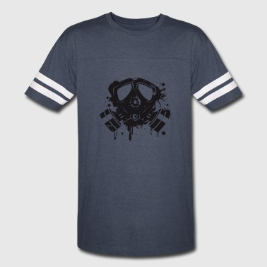 Gas mask graffiti - Vintage Sport T-Shirt