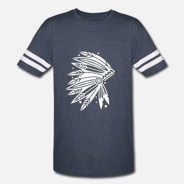 Headdress Chieftain's Headdress - Vintage Sport T-Shirt