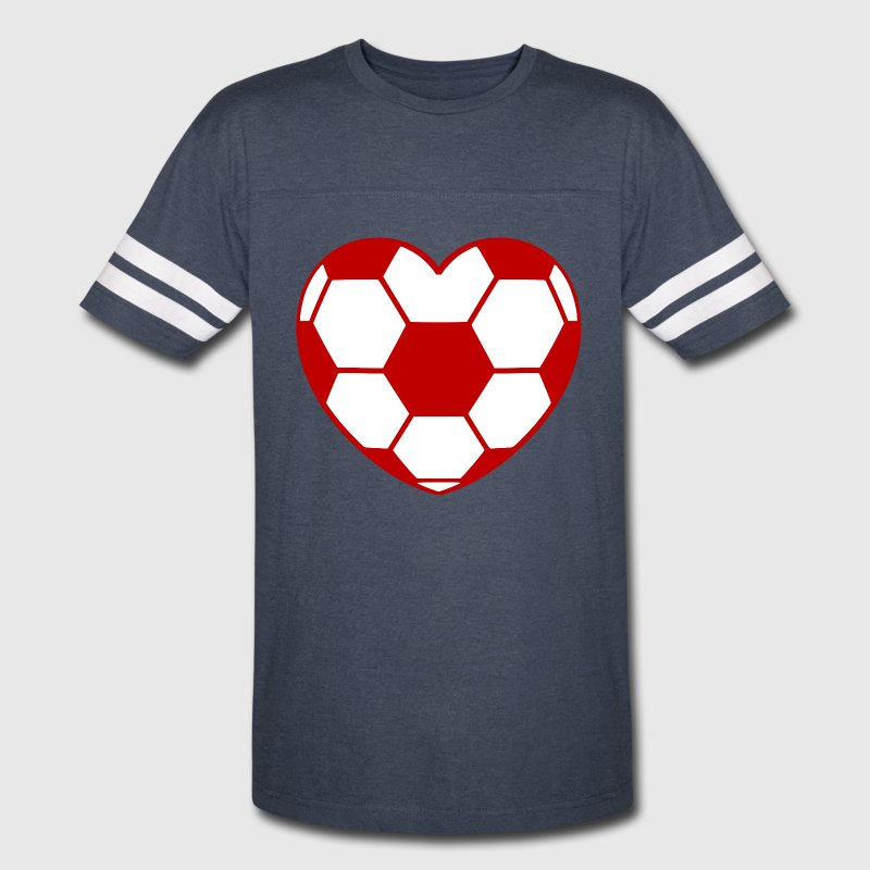 Soccer heart i love red white by xsylx spreadshirt for I love sports t shirt