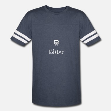 Film Buff Film Editor T Shirt Gift for Movie Lovers and Film Buffs - Vintage Sport T-Shirt