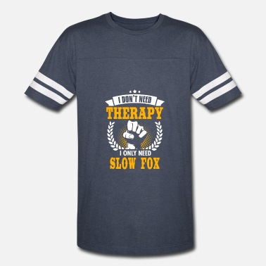 Slow Dance Slow Fox - Vintage Sport T-Shirt