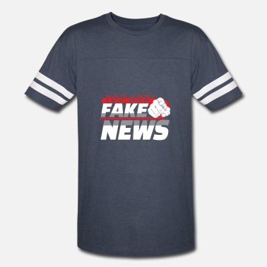 Fake President You Are Fake News Politics News Gift - Vintage Sport T-Shirt