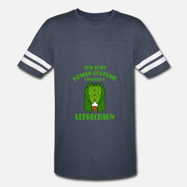 Leprechaun Costume This Is My Human Costume Im A Leprechaun - Vintage Sport T-Shirt