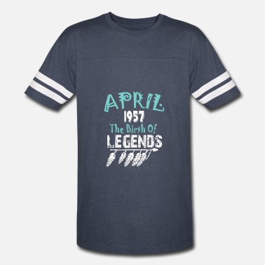 1957 The Birth Of Legends April 1957 The Birth Of Legends - Vintage Sport T-Shirt