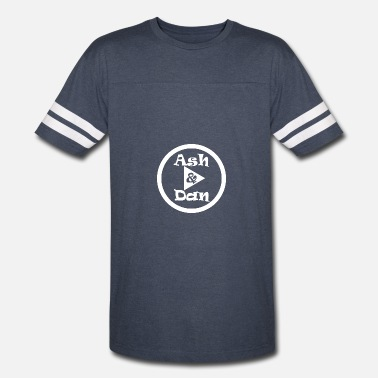 Dan Bilzerian Logo Ash and Dan YouTube Channel - Vintage Sport T-Shirt