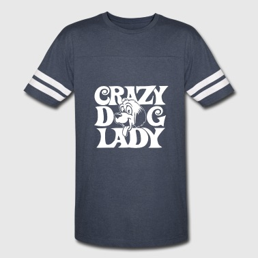 Crazy Dog Lady crazy dog lady - Vintage Sport T-Shirt