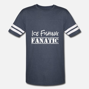 Ice Fishing Clothes ICE FISHING SHIRT - Vintage Sport T-Shirt