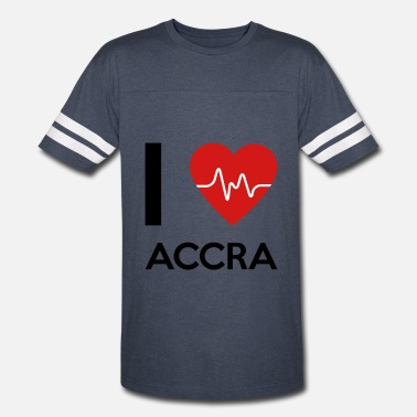 Accra I Love Accra - Vintage Sport T-Shirt