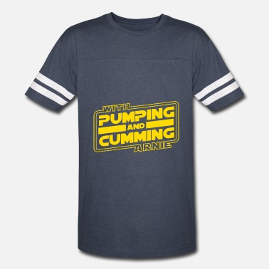 Arnold Pumping and Cumming with Arnold! - Vintage Sport T-Shirt