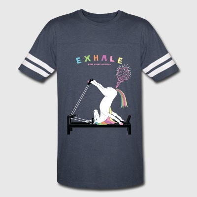 Pilates Unicorn Exhale - Vintage Sport T-Shirt