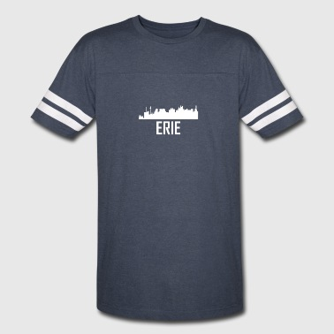 Erie Pennsylvania City Skyline - Vintage Sport T-Shirt