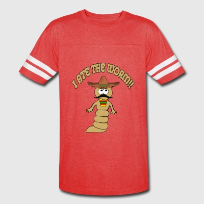 I Ate the Worm - Vintage Sport T-Shirt