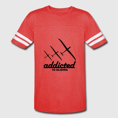 addicted to gliding gift present - Vintage Sport T-Shirt