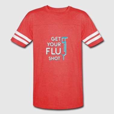 Get Your Nurse Flu Shot Nurse Flu Shot - Vintage Sport T-Shirt