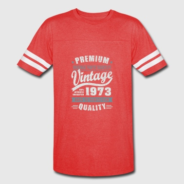Birthday 1973 Aged to perfection - Vintage Sport T-Shirt