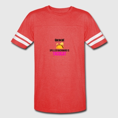 Tacocat spelled backward - Vintage Sport T-Shirt
