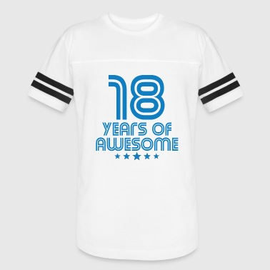 18 Years Of Awesome 18 Years Of Awesome 18th Birthday - Vintage Sport T-Shirt