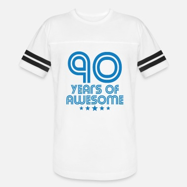90 Years Birthday 90 Years Of Awesome 90th Birthday - Vintage Sport T-Shirt