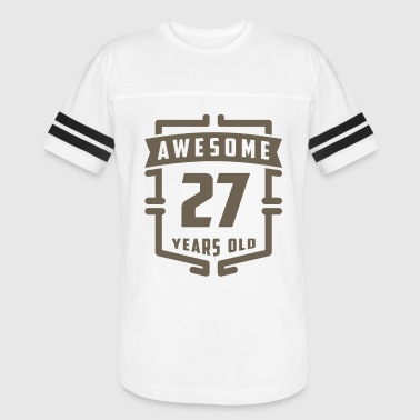 27 Years Awesome 27 Years Old - Vintage Sport T-Shirt