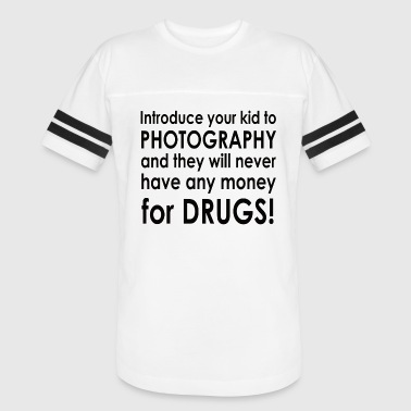 No Drug Money - Vintage Sport T-Shirt