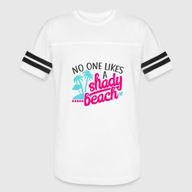 Play On Words Kids Love No One Likes A Shady Beach Design Funny Play on Words Summer Look - Vintage Sport T-Shirt