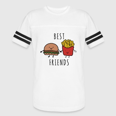 Burger And Fries Best Friend BEST FRIENDS - BURGER AND FRIES - Vintage Sport T-Shirt