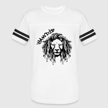 Dread Lion (Black & White) - Vintage Sport T-Shirt