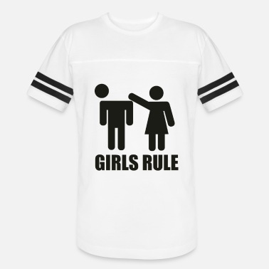 Girl Rules GIrl Rule - Vintage Sport T-Shirt
