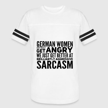 German Religion german woman offensive t shirts - Vintage Sport T-Shirt