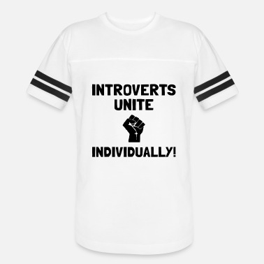 Introverts Unite Individually Introverts Unite Individually - Vintage Sport T-Shirt