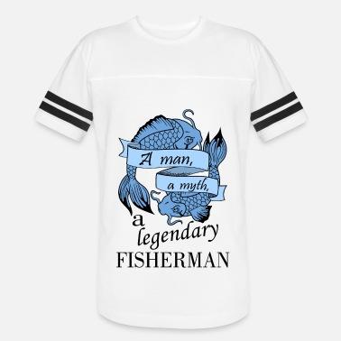 2197f0767 Fisherman - blue - Unisex Vintage Sport T-Shirt