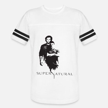 Dean Supernatural Men s Women s Dean And Sam Winchester - Vintage Sport T-Shirt