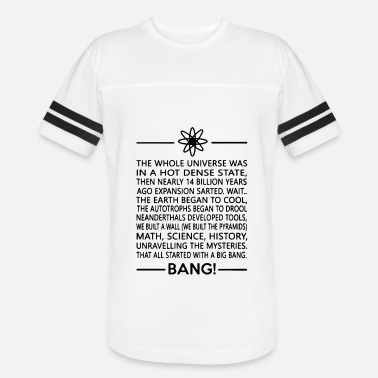 Dense The whole universe was in a hot dense state then n - Unisex Vintage Sport T-Shirt
