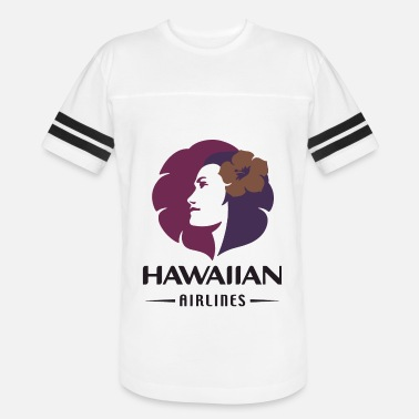 Airline Hawaiian Airlines Vintage Logo Hawaii T Shirts - Vintage Sport T-Shirt