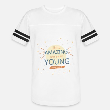 2ec263037fd4 Stay Young Stay Young - Unisex Vintage Sport T-Shirt
