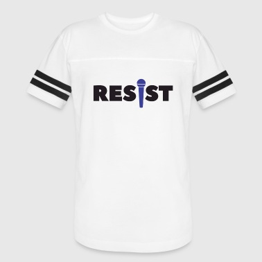 Vocals Resist Vocals - Vintage Sport T-Shirt