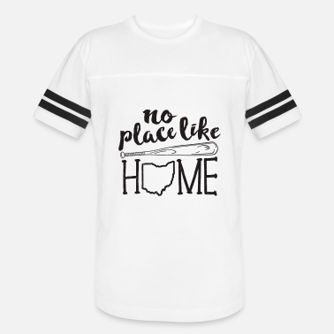 edaaef47 No Place Like Home Baseball TShirt Funny Mom Mother Player - Unisex Vintage  Sport T-