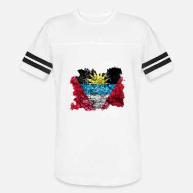 Antigua Flag Antigua and Barbuda Vintage Flag - Vintage Sport T-Shirt