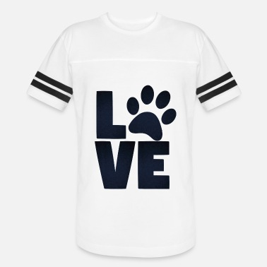 Paws Love Pets Paw Cat Dog Cute - Vintage Sport T-Shirt