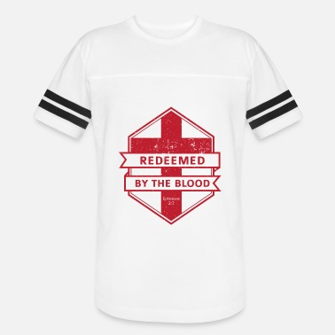 Redeemer Redeemed By The Blood - Vintage Sport T-Shirt