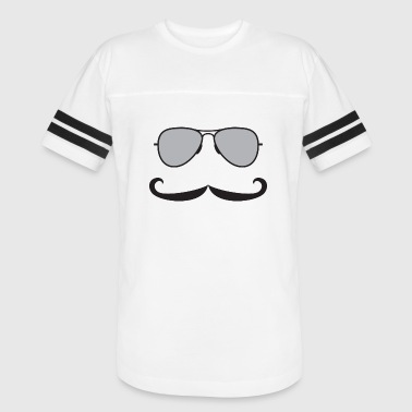 Sunglasses Mustache Mustaches - Sunglasses and Mustaches - Vintage Sport T-Shirt