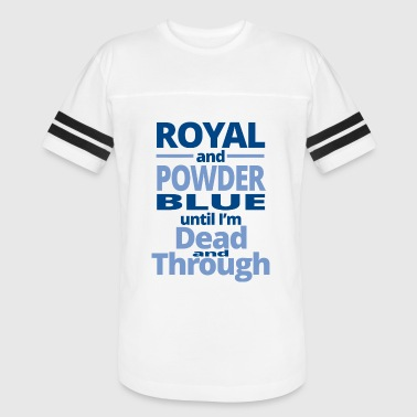 The Royal Tenenbaums Royal - royal and powder blue until i'm dead and - Vintage Sport T-Shirt