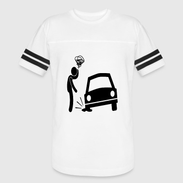 Fun Car Cartoon Comic Fun Car - Vintage Sport T-Shirt