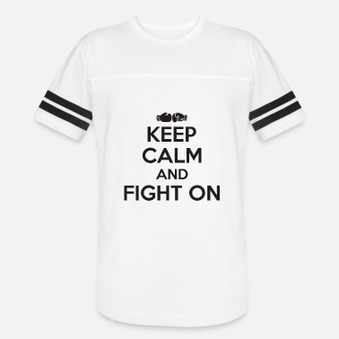 Tit Fighting Boxing - Boxing: keep calm and fight on - Vintage Sport T-Shirt