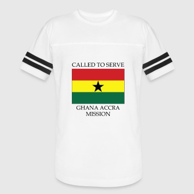 Ghana Accra LDS Mission Called to Serve Flag - Vintage Sport T-Shirt