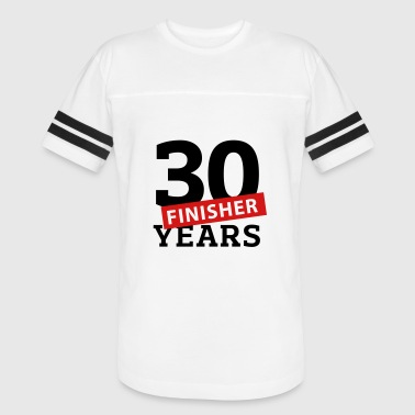 30 Years Finisher - Vintage Sport T-Shirt